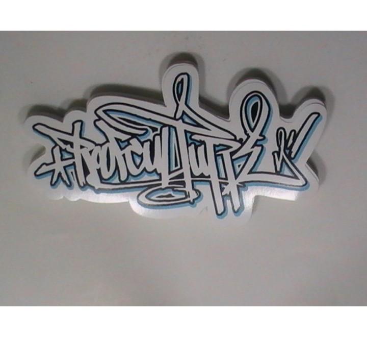 Custom White Vinyl Stickers