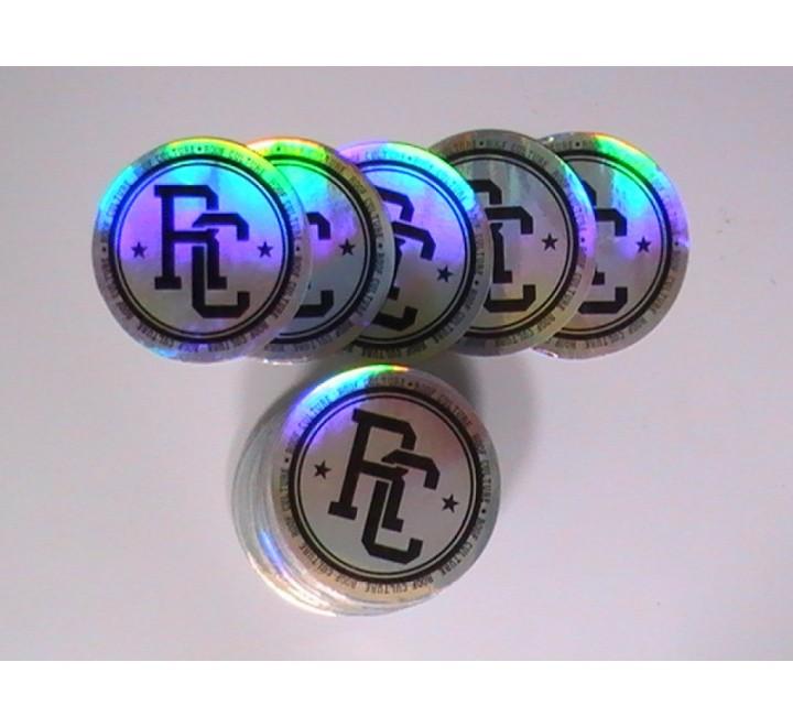 Round Foil Sticker
