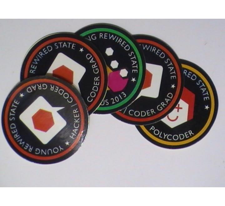 Round Paper Sticker