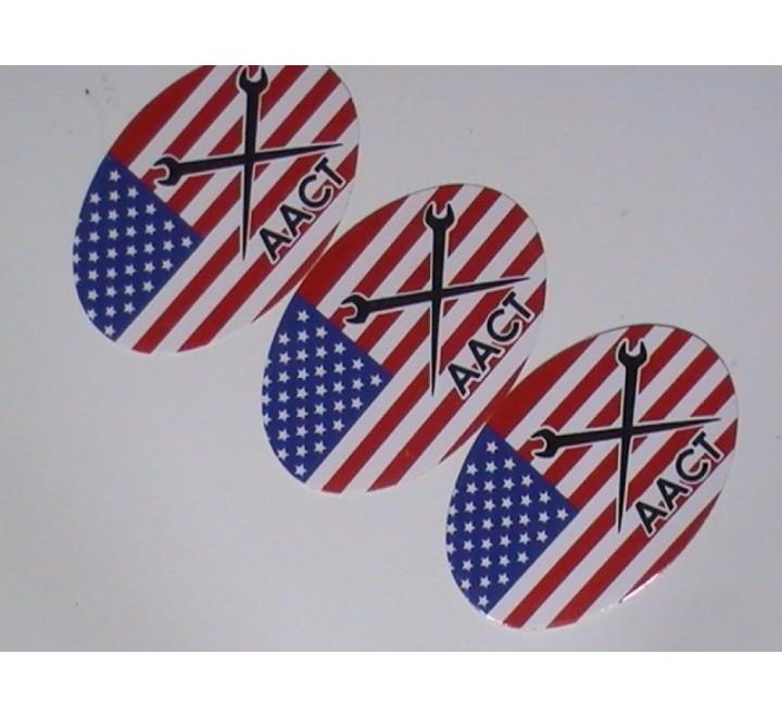 Oval Paper Sticker