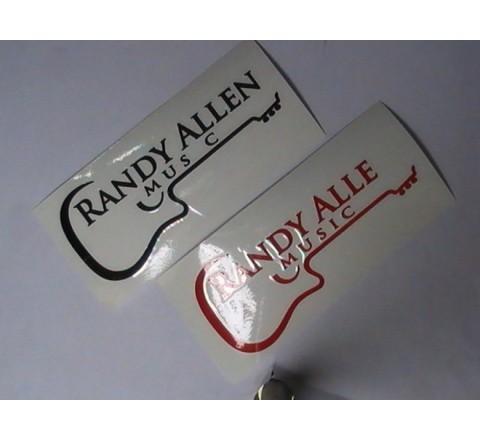 Die Cut Letter Cut Stickers