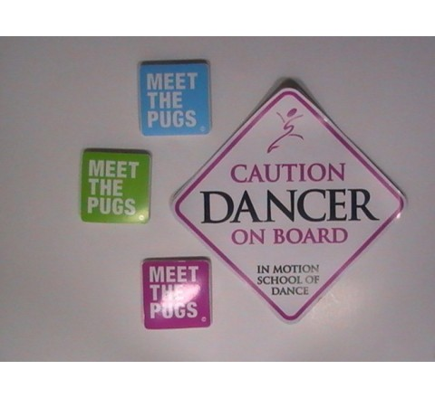 Square Bumper Stickers