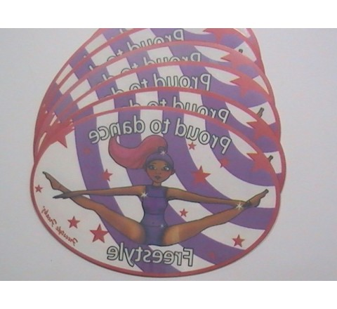 Oval Window Stickers
