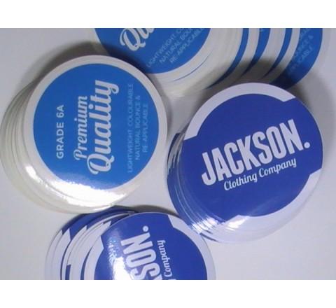 Round Bumper Stickers