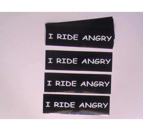 Rectangular Car Stickers